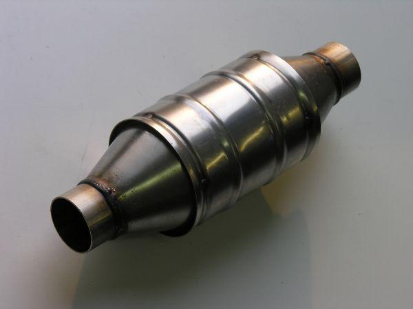 Sportkatalysator Universal 400cpi rund / Metallträger bis 400 PS