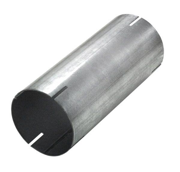 Stahl Hülse beidseitig geschlitzt Länge 190mm