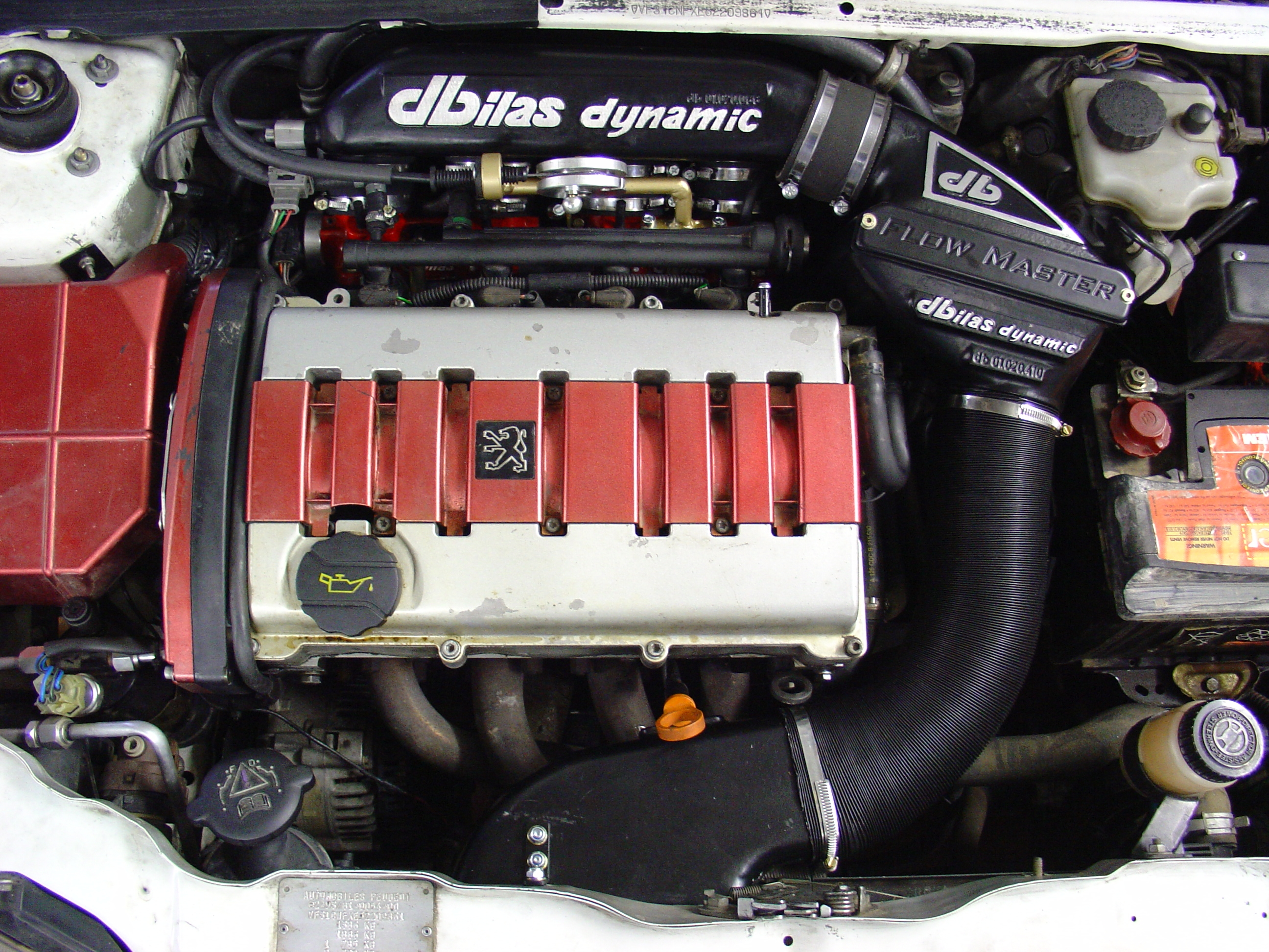 106 Peugeot FlowMasterKit Luftfiltersysteme
