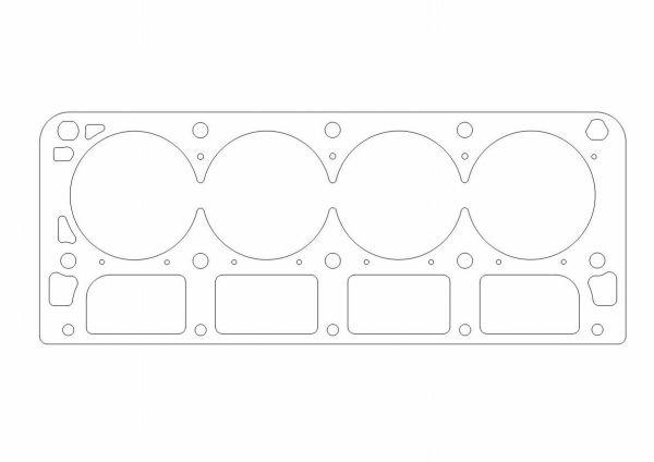 Athena COOPER Ring Racing Zylinderkopfdichtung Chevrolet 364 VIN U 6.0l Bohrung 105.4mm