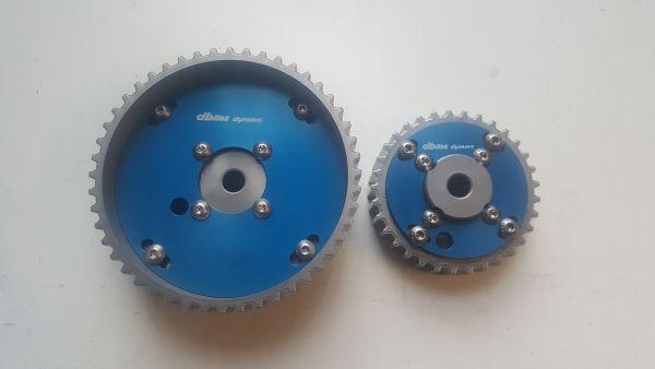 Verstellbare Nockenwellenräder für VAG 1,4 - 1,6 16V Motoren mit Rollenhebeln und ohne Nockenwelle