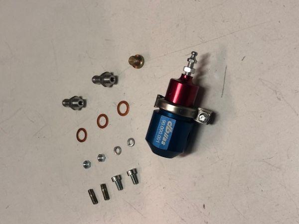 Benzindruckregler 2-Wege 0-5 bar einstellbar