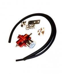 Benzindruckregler mit Manometer einstellbar 0-10 Bar