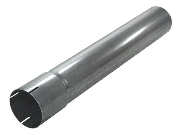 Edelstahl Rohr mit Muffe 500mm