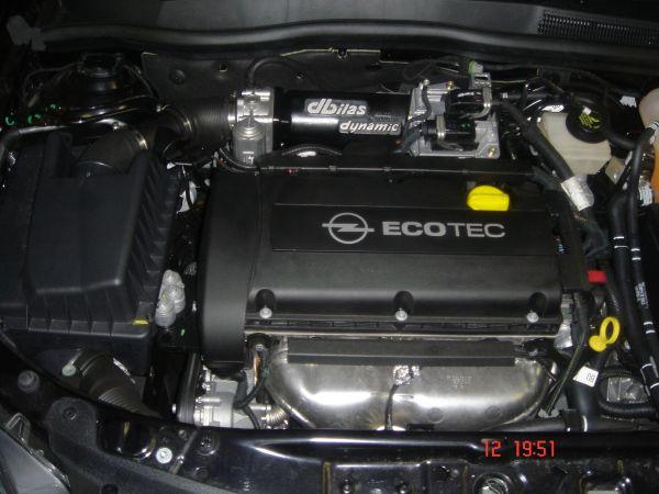 Flowtec Saugrohr Opel Astra H, Meriva A 1,6 16V 77kW Z16XEP