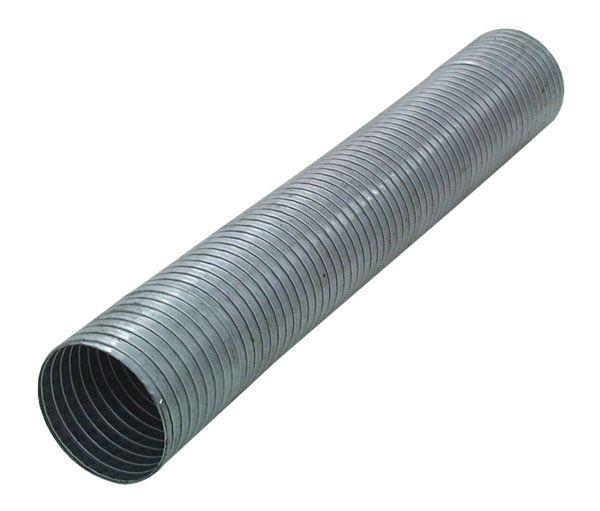 Flexibles galvanisiertes Rohr Länge 500mm
