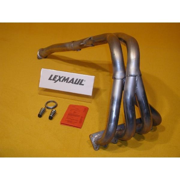 Lexmaul Edelstahl - Fächerkrümmer für Opel Calibra A, Astra F, Vectra A 2,0 16V 110kW C20XE