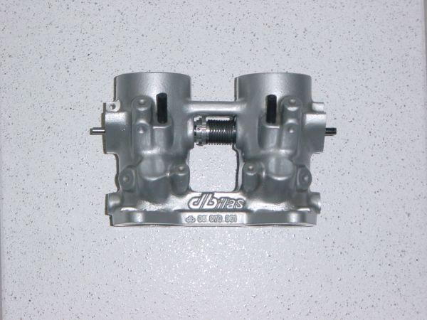 Drosselklappenteil Ø 40 mm / L 110 mm ohne Flansch, ohne Bohrungen