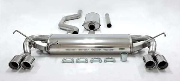 Simons Duplex Edelstahlanl. 2x80mm rund Opel Signum 1.8/2.0T/2.2/3.2/1.9CDTi/2.0DTi/2.2DTi/3.0CDTi B