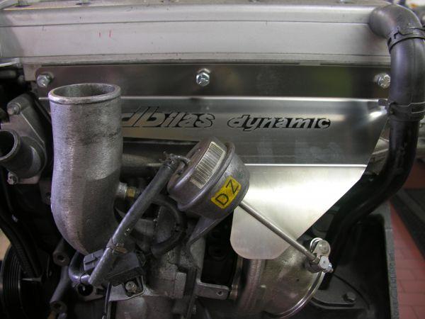 Hitzeschutz Opel Astra G & H,Zafira A & B mit Z20LET,Z20LEL,Z20LER,Z20LEH