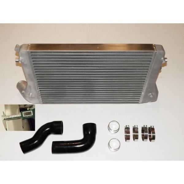Ladeluftkühler Kit für Golf 5 Audi A3 S3 Seat Leon Passat B6 2.0 TFSI Douple-DIN 56mm