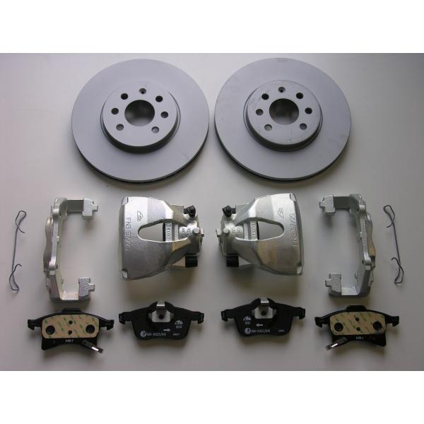 Größere Bremsanlage mit nicht gelochten Scheiben für Corsa C , Tigra B TT 1,8 für die Vorderachse