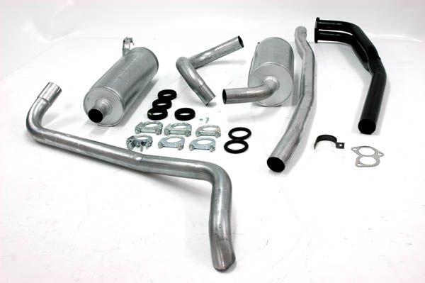 Simons aluminisierte Stahl Auspuffanlage Volvo 140 B18/B20 A/B/D/E Baujahr 67-73
