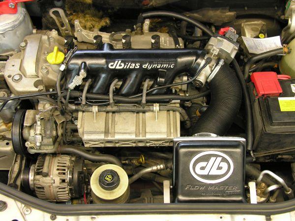 Flowtec Saugrohr Renault Clio, Megane 1,6 16V 79kW & Dacia Logan K4M
