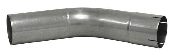 Edelstahl Rohrbogen 45° mit Muffe
