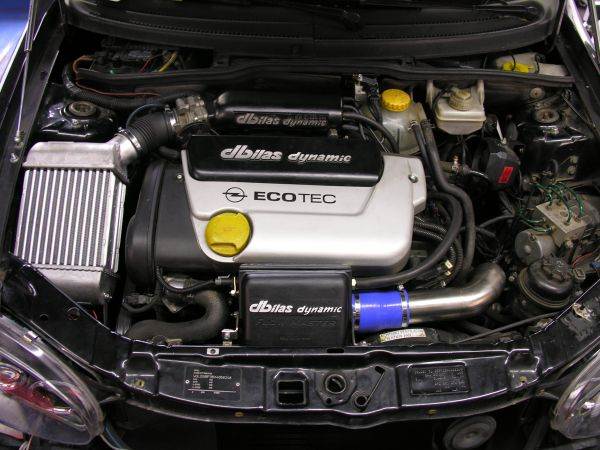 Turbolader System Maxi Edition Opel Astra G, Corsa B, Tigra A, Vectra B, Zafira A X16XE(L)