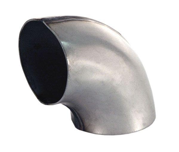 Stahl Rohrbogen geschweißt 90° Innenradius 62mm