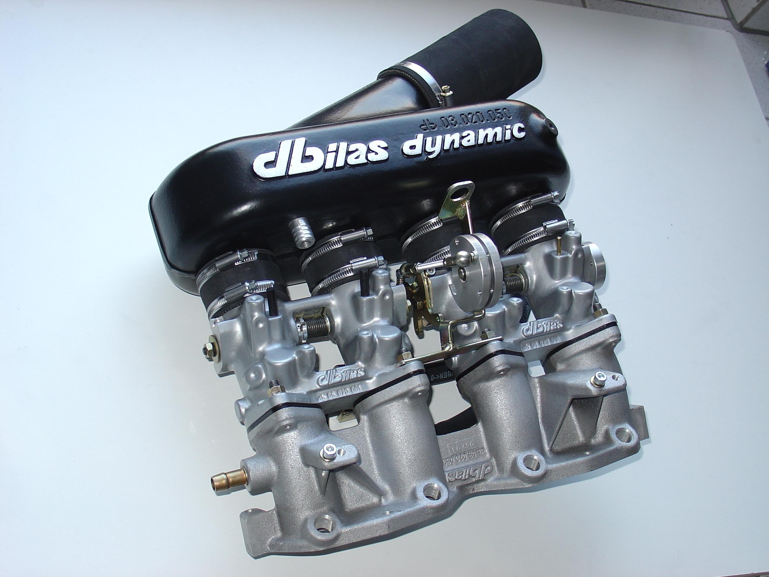 Throttle body kit for BMW E30 1,8 8V 83kW M40B18