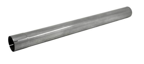 Edelstahl Rohr mit Muffe 1000mm