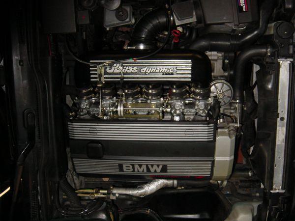 Einzeldrosselklappen- Einspritzung BMW E36, E34 2,5 24V 141kW M50B25