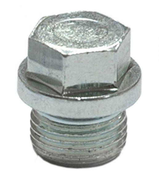 Verschlussstopfen Lambdssonde galvanisiert (M18x15mm)