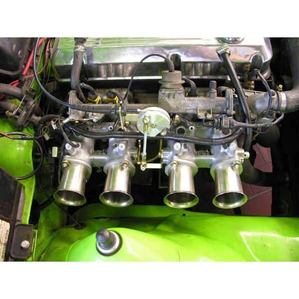 Rennsport Einzeldrosseleinspritzanlage Opel CIH 2,0 8V