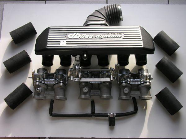 Einzeldrosselklappen- Einspritzung BMW 2,8-3,5 12V M30