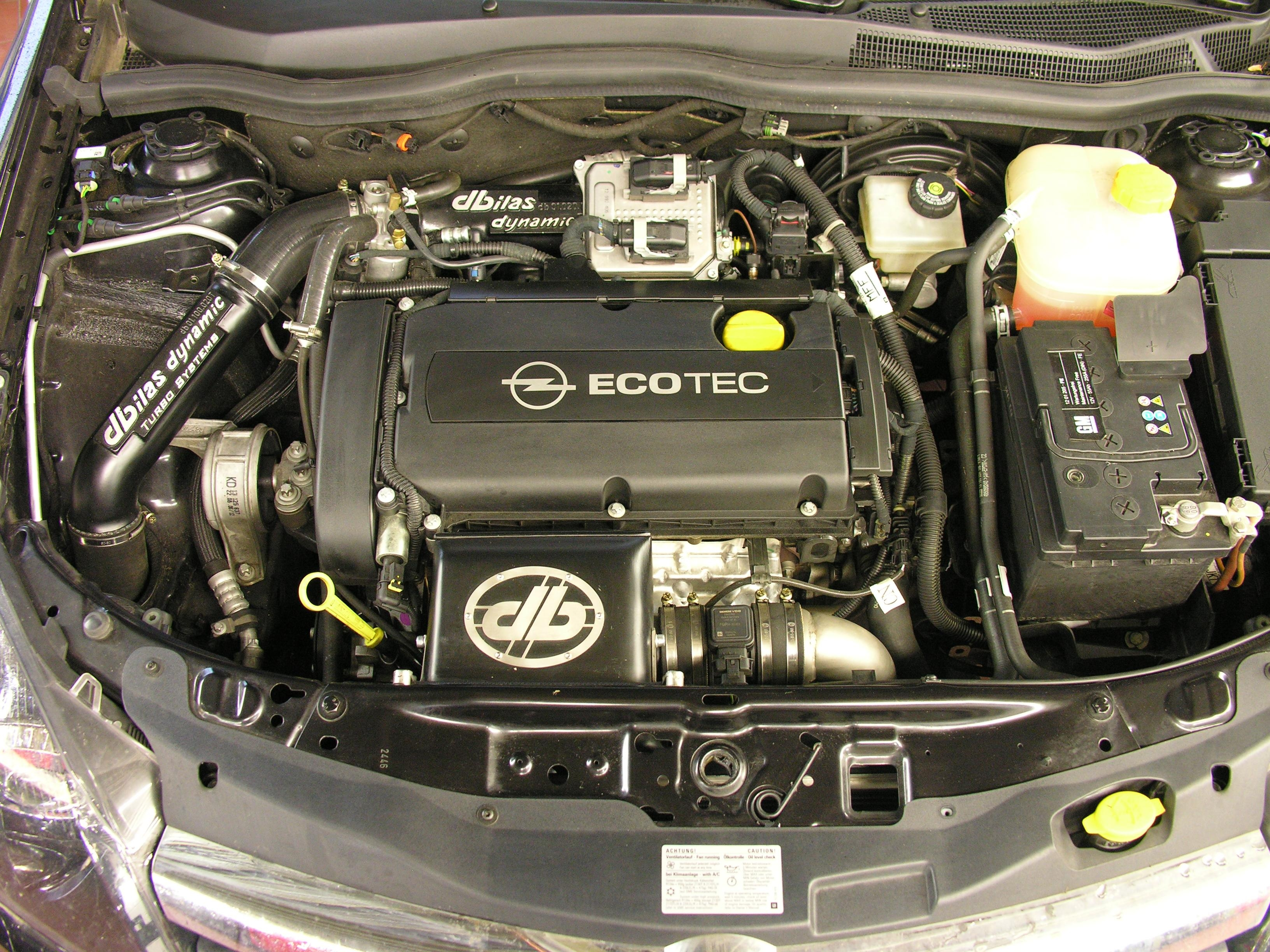 Turbocharger System Maxi Edition Opel Astra H Signum