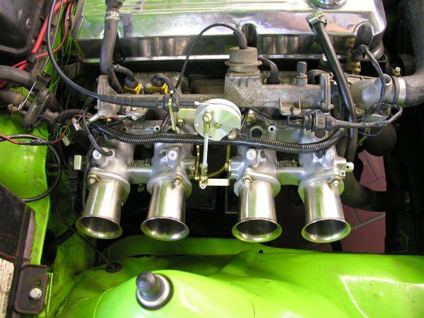 Rennsport Einzeldrosseleinspritzanlage Opel 2,2 - 2,4 8V CIH