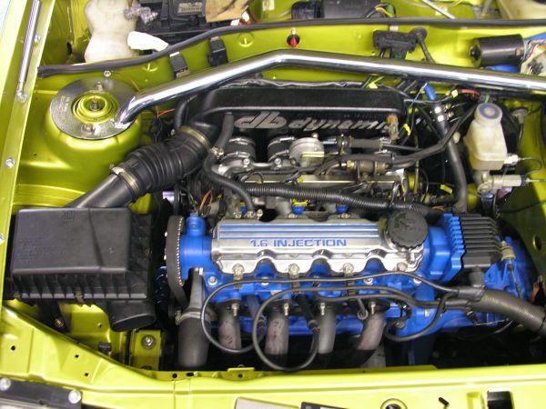 Einzeldrosselklappen- Einspritzung Opel 1,6 8V 72kW C16SE (Kit mit Nockenwelle)