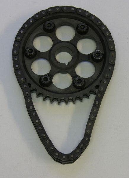 Verstellbare Nockenwellenräder BLMC mit Kette
