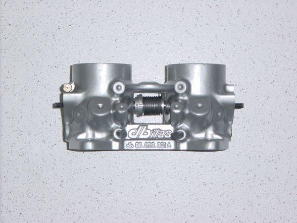 Drosselklappenteil Ø 45 mm / L 80 mm ohne Flansch, mit Bohrungen