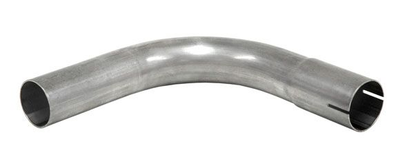 Stahl Rohrbogen 90° mit Muffe