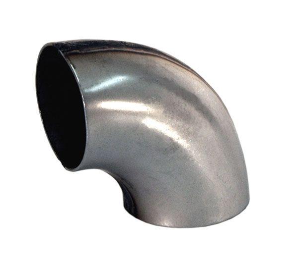 Stahl Rohrbogen geschweißt 90° Innenradius 51mm