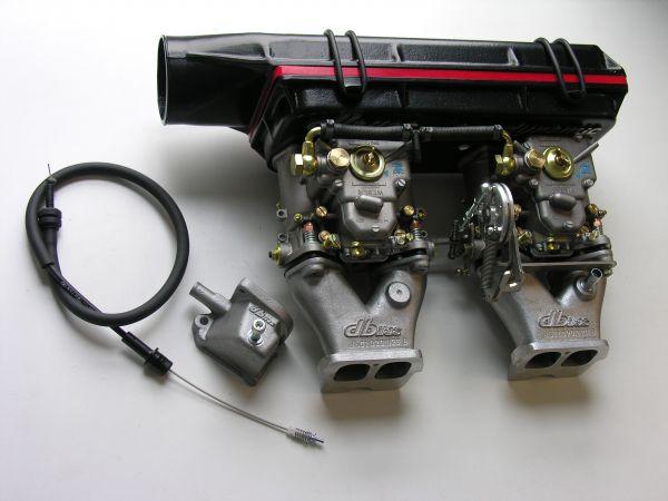 Vergaseranlage Opel Manta + Ascona B, Kadett C Coupé 2,4 8V