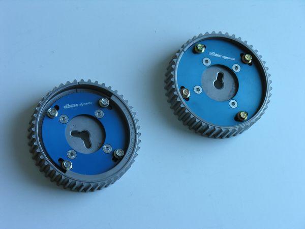 Umbau der Seriennockenwellenräder auf verstellbar Opel X20XER